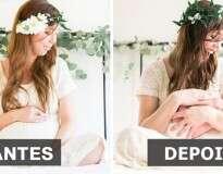 15 fotos incríveis de mães antes e depois da gravidez