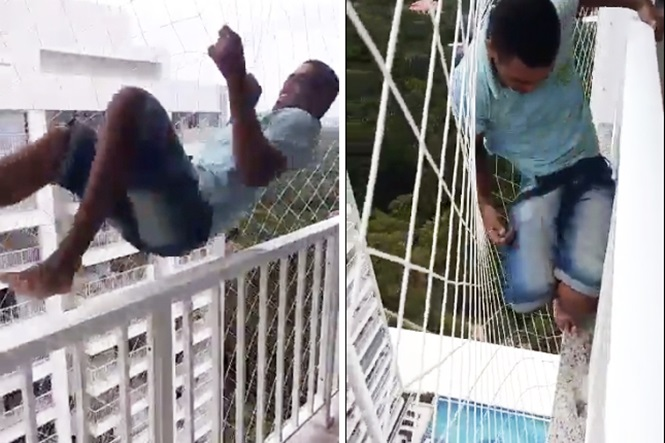 Vídeo: a convicção deste instalador de redes vai te dar aflição