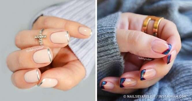Imagens que farão você querer adotar a francesinha para suas unhas