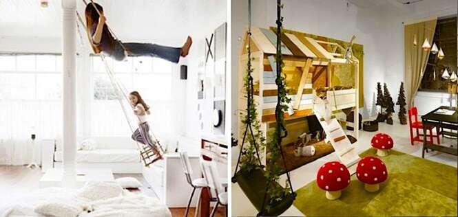 Ideias de quartos infantis que farão você querer voltar a ser criança