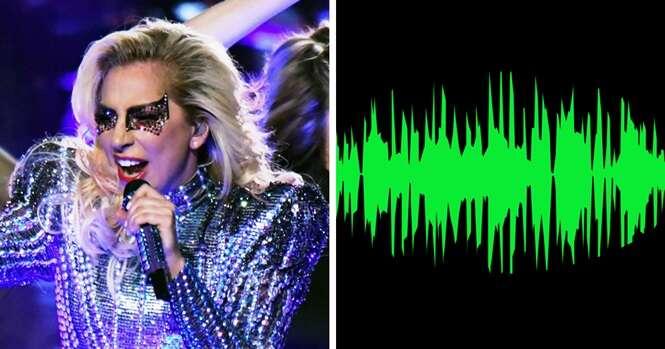Alguém removeu a música de fundo da apresentação de Lady Gaga no Super Bowl, e o que se ouve é de arrepiar