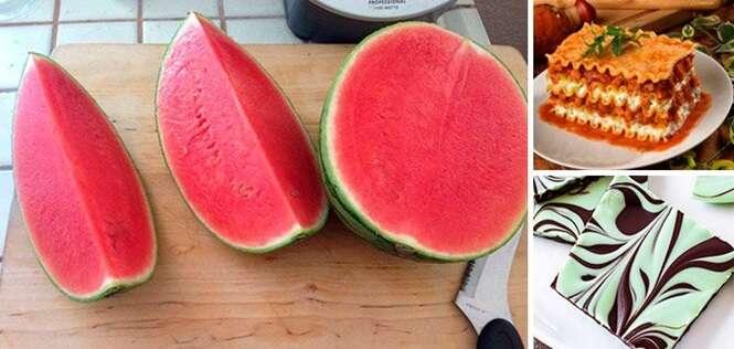 Imagens das mais satisfatórias que você já viu envolvendo comida