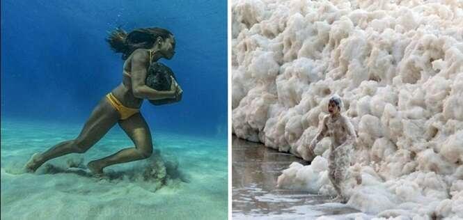 Imagens provando que ainda podemos nos surpreender muito com as coisas do mundo