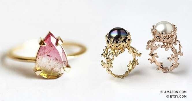 Pedras preciosas tão impressionantes quanto o diamante