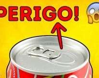Ao abrir uma lata, você não deve se esquecer de fazer isto