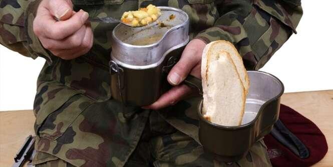 O que soldados de 11 países ganham para se alimentar quando estão em campo