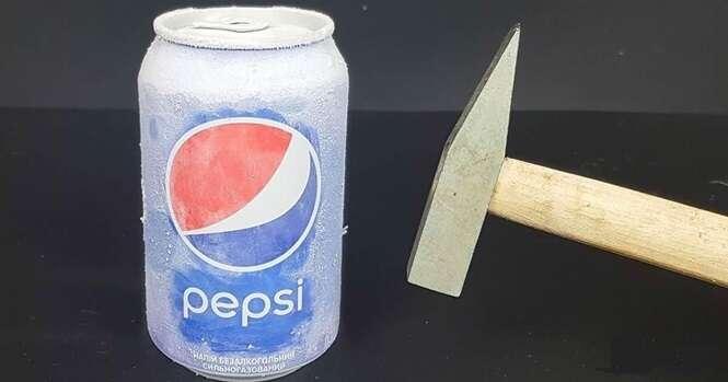 Vídeo: Pepsi x Nitrogênio líquido. Veja o que acontece
