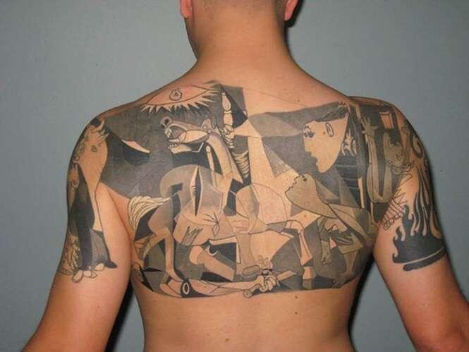 Tatuagens inspiradas em arte clássica que você vai querer fazer