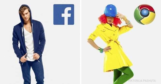 Assim seriam as redes sociais e os navegadores de internet se fossem pessoas reais