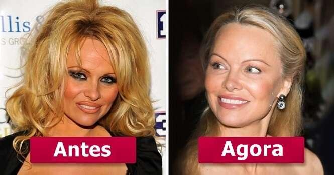 As mais lindas mulheres dos anos 90 naquela época e hoje em dia