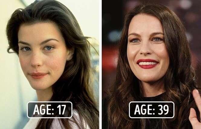 Celebridades que têm mais de 35 anos, mas que aparentam ter menos de 20