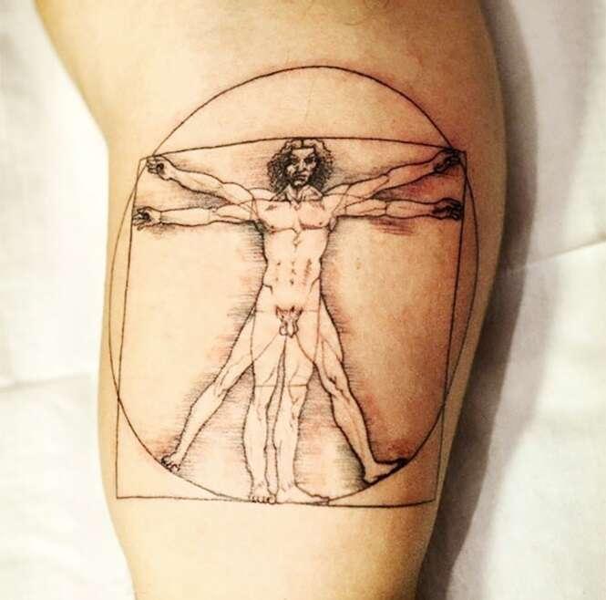 Tatuagens inspiradas em arte que você vai querer fazer