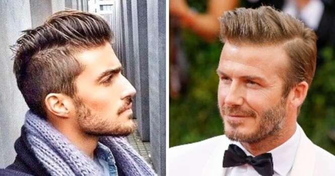Sugestões de penteados para homens