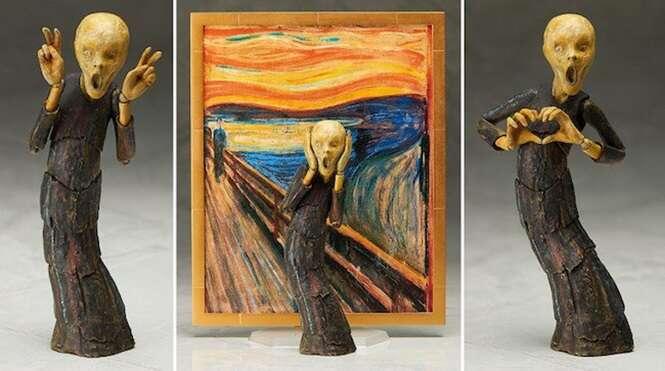 Empresa transforma personagens da arte em bonecos sensacionais