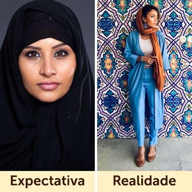 Assim se vestem mulheres de diferentes países do mundo
