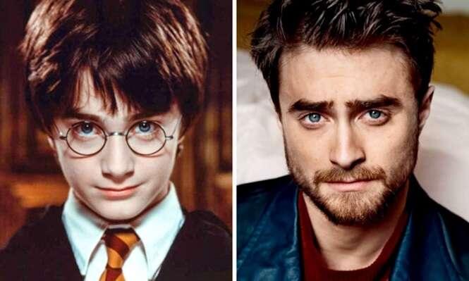 """Um olhar fascinante para as estrelas de """"Harry Potter"""" 16 anos depois do primeiro filme"""