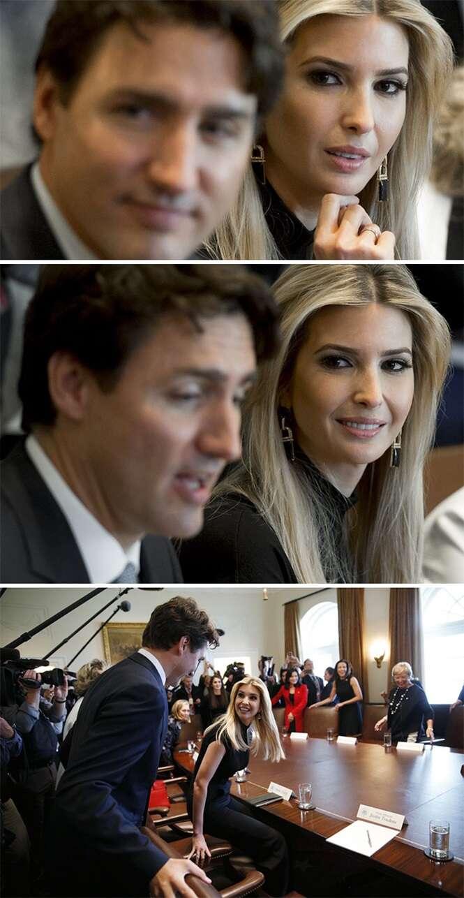 9 imagens provando que ninguém resiste ao primeiro-ministro do Canadá