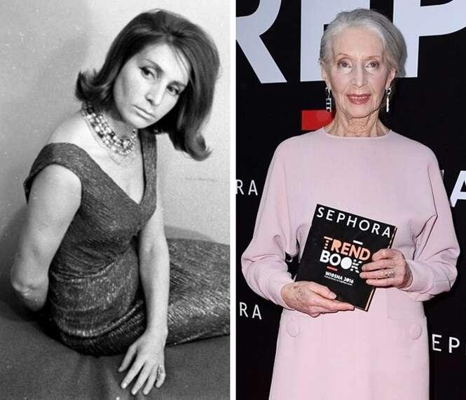 Mulheres que continuam brilhando com o passar dos anos