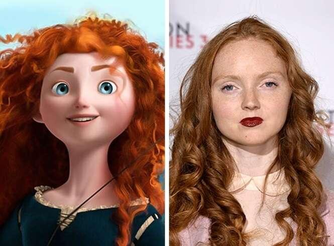 Modelos que se parecem com personagens da Disney