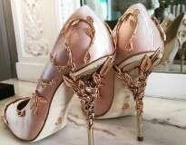 Esses calçados são muito bonitos para serem reais