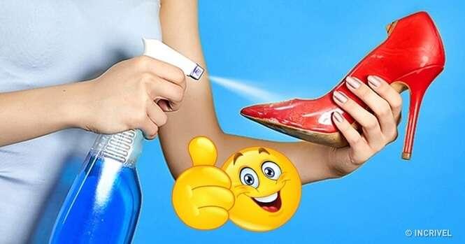 Truques inteligentes que podem dar uma segunda chance a sapatos e roupas