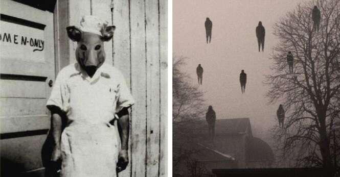 Imagens macabras que farão você ter pesadelos