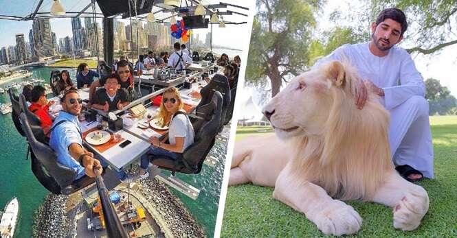 Razões que provam que Dubai é o lugar mais extravagante do mundo