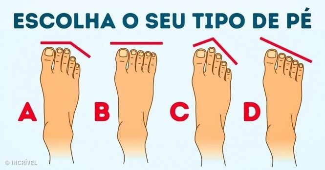 Sua personalidade de acordo com a forma de seus pés