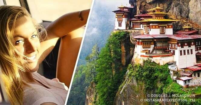 Os lugares preferidos da jovem que visitou todos os países do planeta