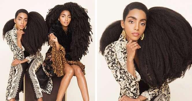 Estas gêmeas tinha vergonha do próprio cabelo, mas agora são famosas graças a ele
