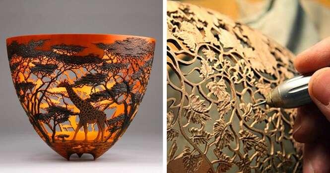 Vasos incríveis inspirados na natureza