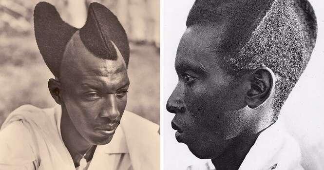 Fotos de quase 100 anos mostram como penteado tradicional ruandês era surpreendente