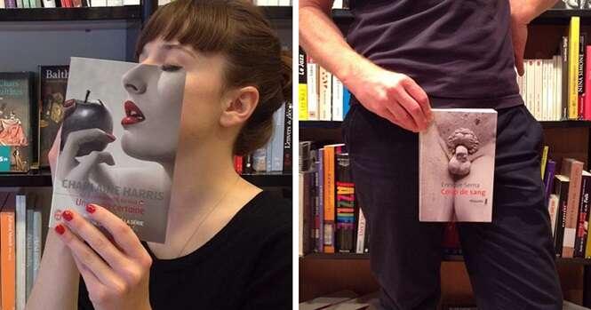O que acontece quando os funcionários da livraria ficam entediados