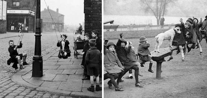 Fotos antigas que provam que a tecnologia alterou a infância