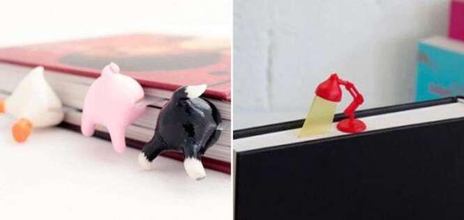 Marcadores de livros tão criativos que vão te dar vontade de ler agora