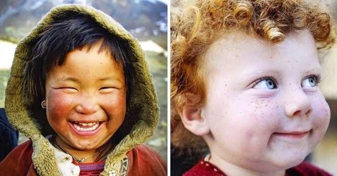 Fotos mostrando os sorrisos mais cativantes do mundo