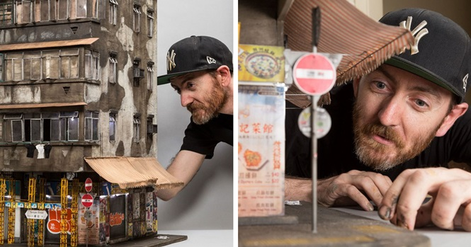 Estas cidades em miniatura são tão detalhadas que você precisará de uma lupa