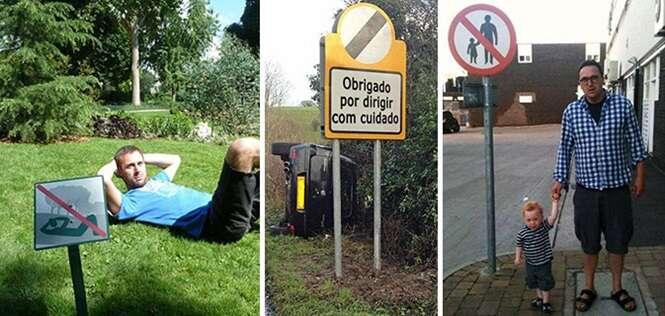 Rebeldes quebrando as regras da maneira mais hilária que você já viu