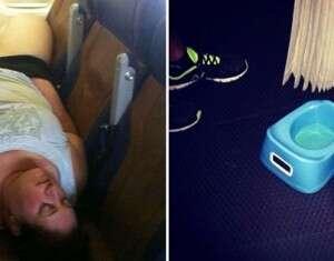 14 passageiros que pensam que o avião é parte da casa