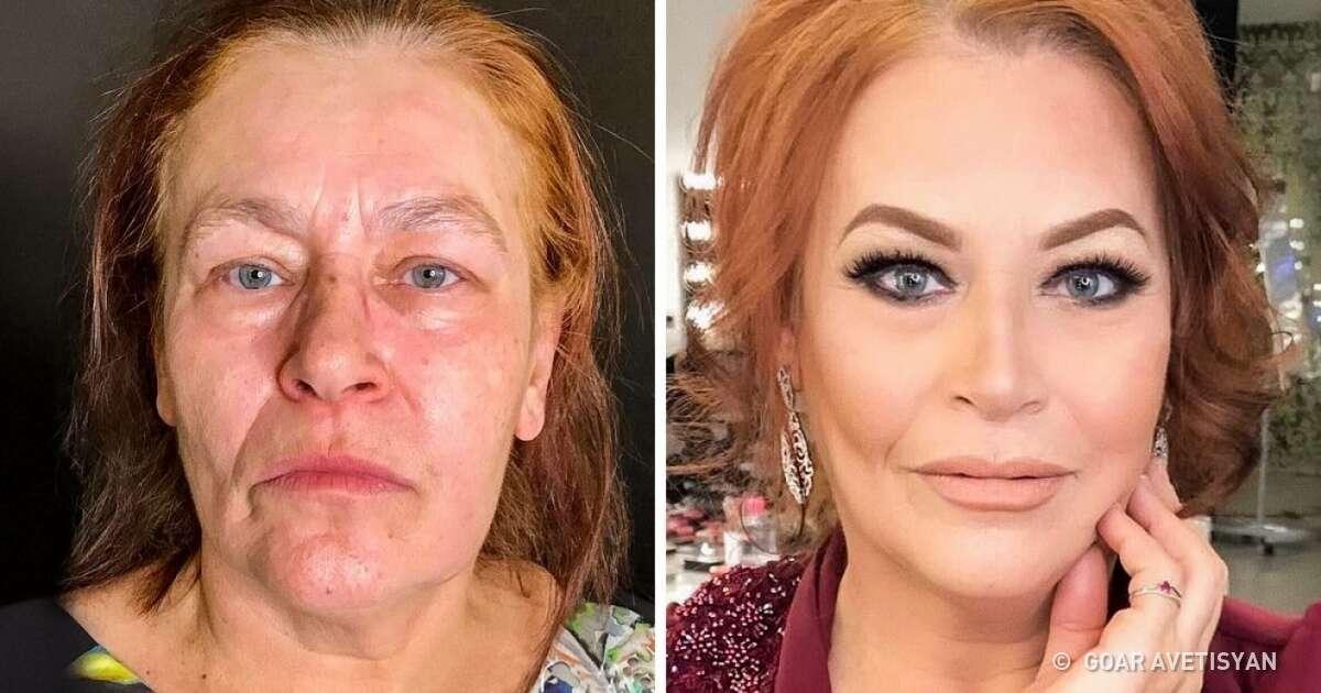Você vai achar que os trabalhos desta maquiadora são Photoshop