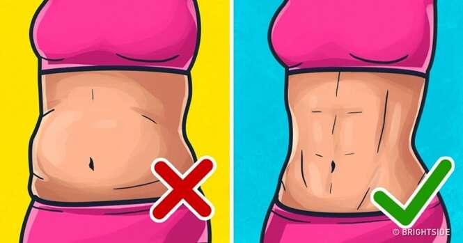 Esta incrível técnica japonesa irá lhe ajudar a se livrar da gordura abdominal rapidamente