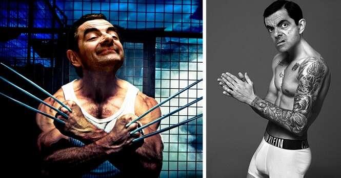 Montagens absurdamente divertidas com o Mr. Bean