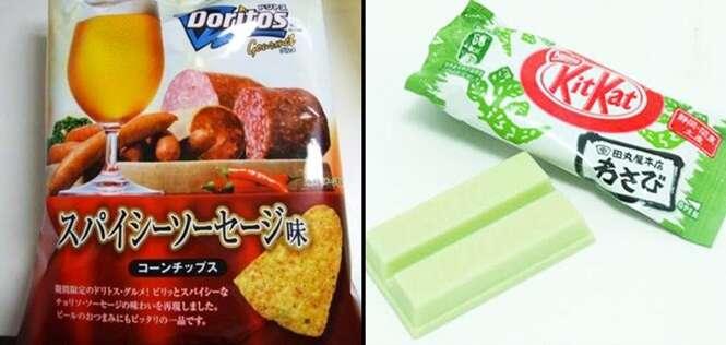 Produtos pelo mundo com sabores bem incomuns e que são um sucesso