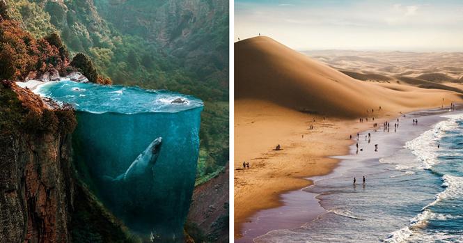 Imagens incríveis mostrando como seriam seus sonhos se você pudesse fotografá-los