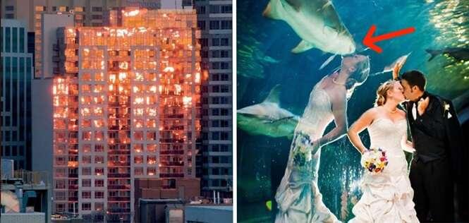 Imagens formadas por reflexos que você vai pensar que são montagens