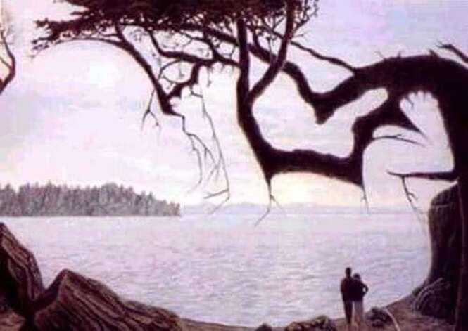 Você consegue achar o bebê nesta foto?