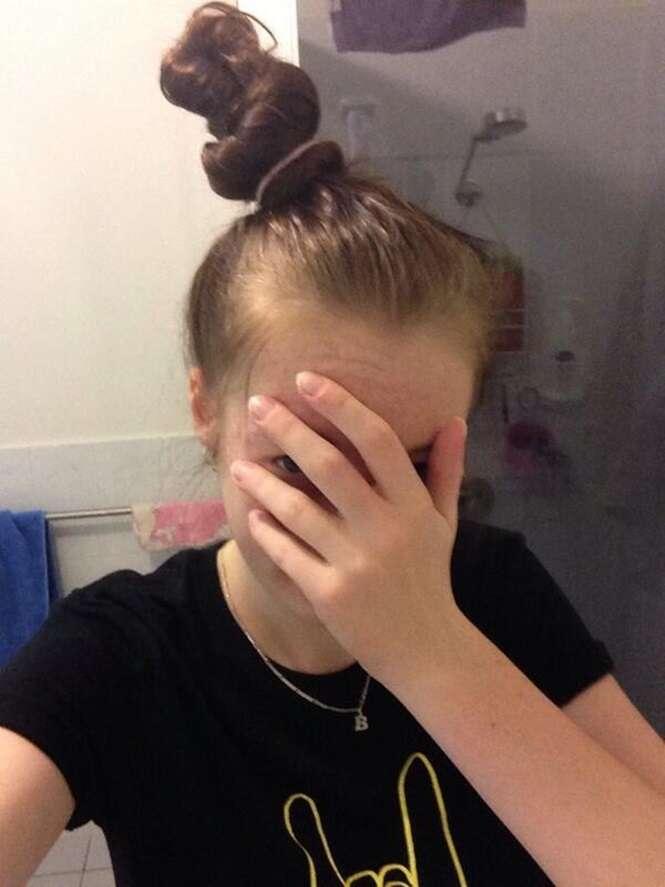 Imagens com as quais só as mulheres que têm cabelos compridos vão se identificar