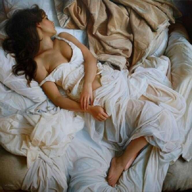 Quadros que emanam sensualidade