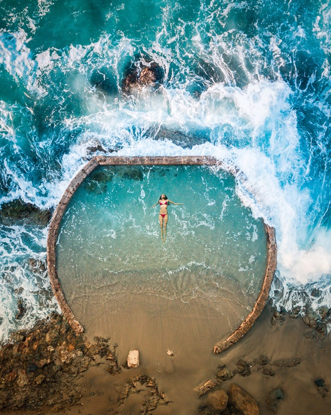 Incríveis imagens aéreas do oeste americano