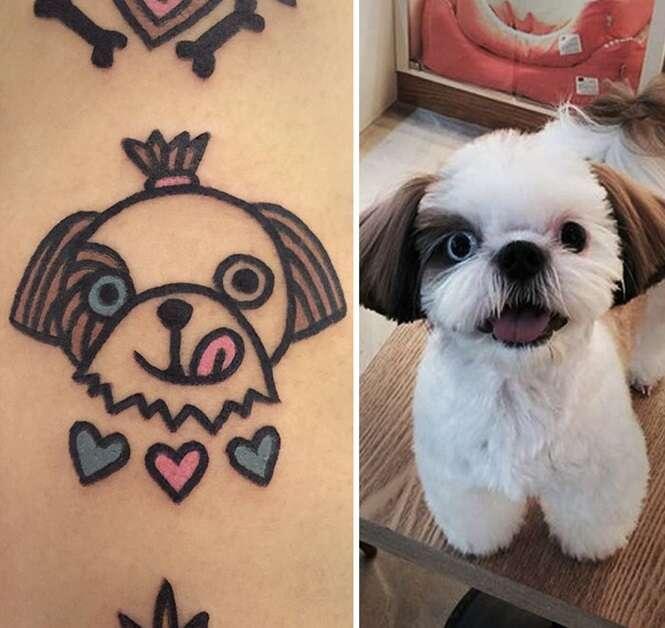 Sul-coreano transforma animais de estimação em tatuagens